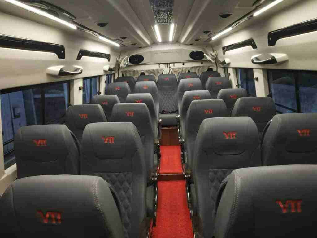 hire affordable 22 seater tempo traveller in ghaziabad
